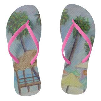 A SUMMER PLACE Flip Flops