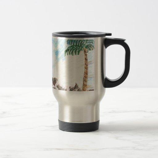 A Sun Set in Paridise Mugs