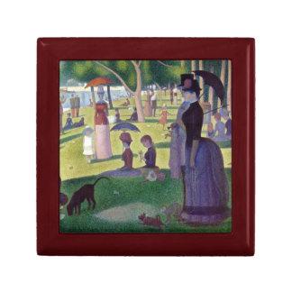 A Sunday Afternoon on La Grande Jatte by Seurat Gift Box