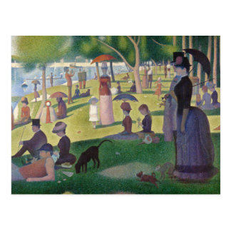 A Sunday on La Grande Jatte by Seurat Postcard