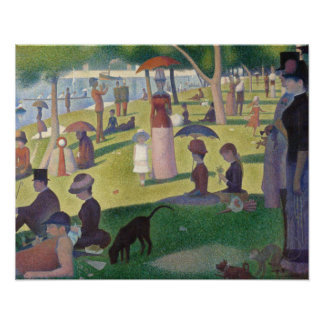 A Sunday on La Grande Jatte by Seurat Poster