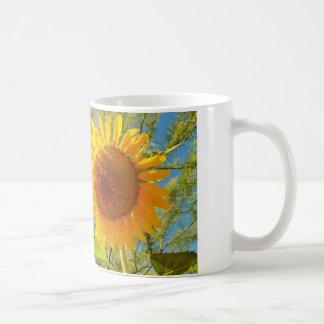 A Sunflower Coffee Cup Classic White Coffee Mug