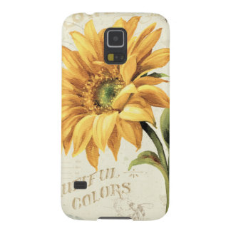 A Sunflower in Full Bloom Galaxy S5 Cover