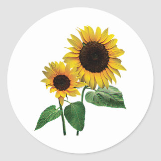 A Sunflower Mommy's Love Stickers