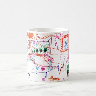 A Sunny Day Basic White Mug