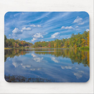 A Sunny Fall Reflection Mouse Mat