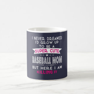 A Super cute Baseball Mom Coffee Mug