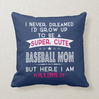 A Super cute Baseball Mom Cushion