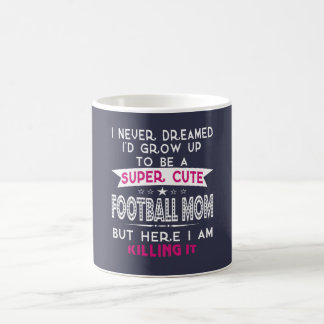 A Super cute Football Mom Coffee Mug