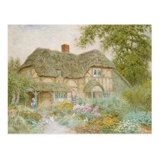 A Surrey Cottage Postcard