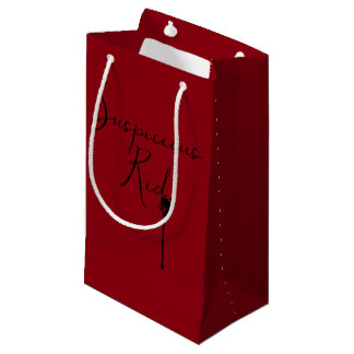 A Suspicious Red Gift Bag