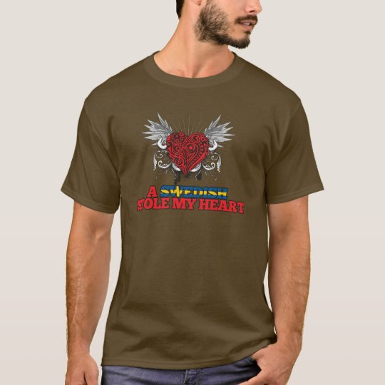 A Swedish Stole my Heart T-Shirt