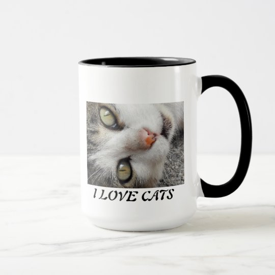 A SWEET AND BEAUTIFUL CAT MUG