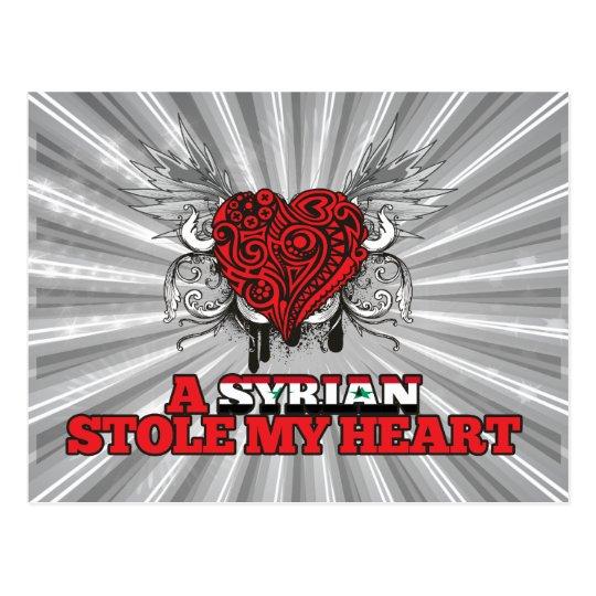 A Syrian Stole my Heart Postcard