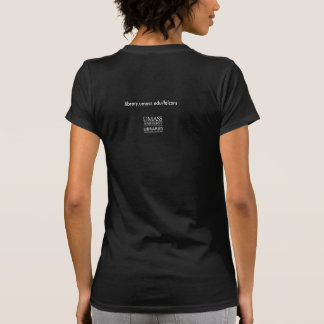 A t-shirt about the Du Bois Library falcons
