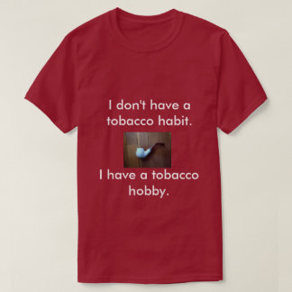 A T-shirt for pipe smokers