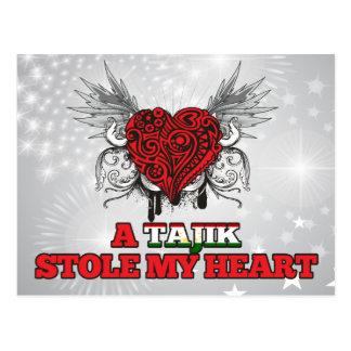 A Tajik Stole my Heart Postcard