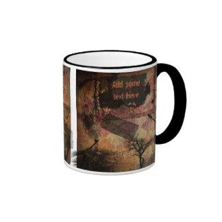 A Tale Of Gothic Woe Ringer Mug