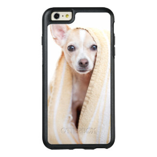 A Tan And White Chihuahua Sits Under A Towel OtterBox iPhone 6/6s Plus Case