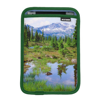 A tarn in the backcountry of Vancouver Island iPad Mini Sleeve