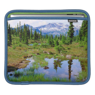 A tarn in the backcountry of Vancouver Island iPad Sleeve