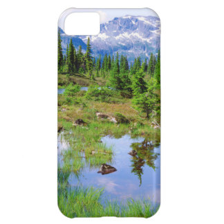 A tarn in the backcountry of Vancouver Island iPhone 5C Case