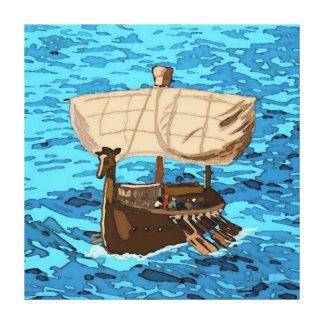 A Tarshish Ship Gallery Wrapped Canvas