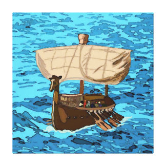 A Tarshish Ship Gallery Wrapped Canvas
