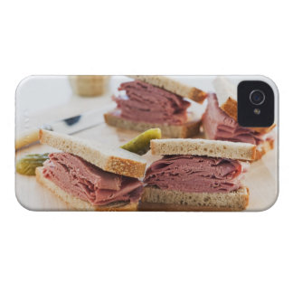A tasty sandwich iPhone 4 cases