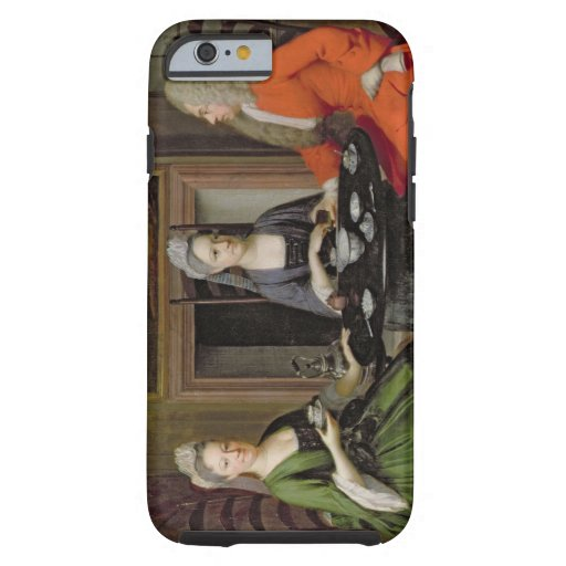 A Tea Party (oil on canvas) iPhone 6 Case