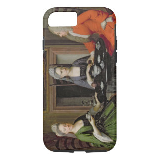 A Tea Party (oil on canvas) iPhone 7 Case