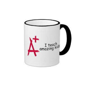 A+ Teacher Coffee Mugs