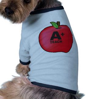 A+ Teacher Doggie Shirt