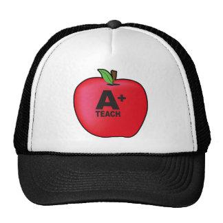A+ Teacher Mesh Hats