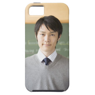 A teacher tough iPhone 5 case