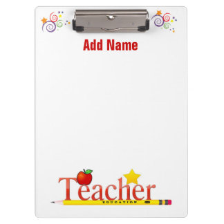 A Teacher's Clipboard