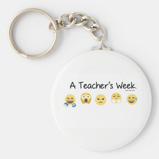 A Teacher's Week 5.7 cm Key Ring