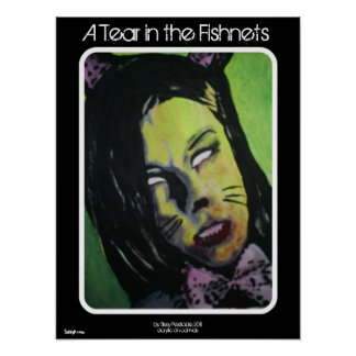 'A Tear in the Fishnets' Zombie Poster