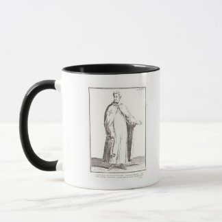 A Templar in his habit: white with a plain Mug
