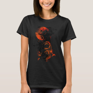 A Temple Surrounded By Birds T-Shirt