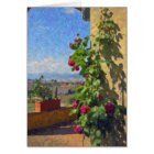 """""""A Terrace, Tuscany"""" Greeting Cards"""