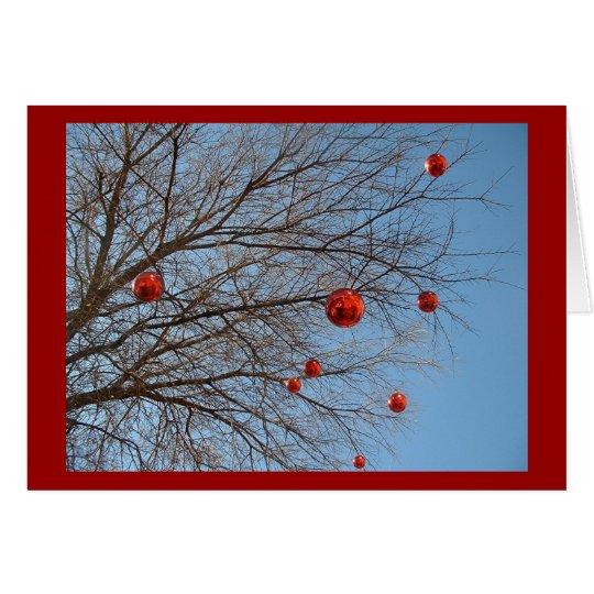 A Texan Christmas Tree Card