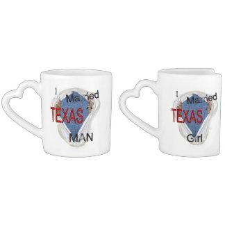 A Texas couple Coffee Mug Set