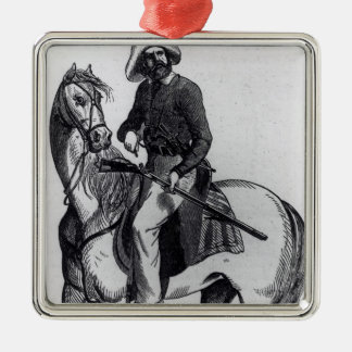 A Texas Ranger Christmas Ornament