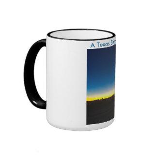 A Texas Sky at Night Ringer Mug