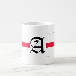 A-text English-Flag Coffee Mug