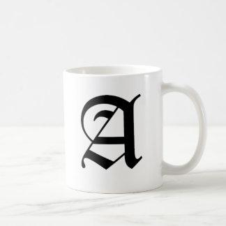 A-text Old English Coffee Mug