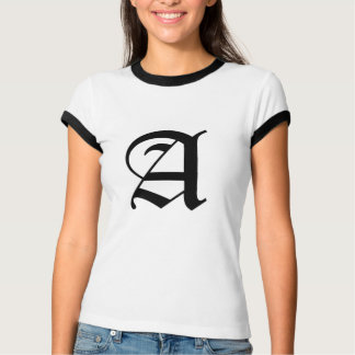 A-text Old English T-Shirt