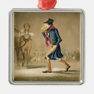 A Thoroughbred November & London Particular, engra Christmas Ornament