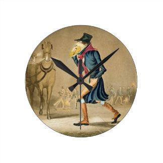 A Thoroughbred November & London Particular, engra Round Clock